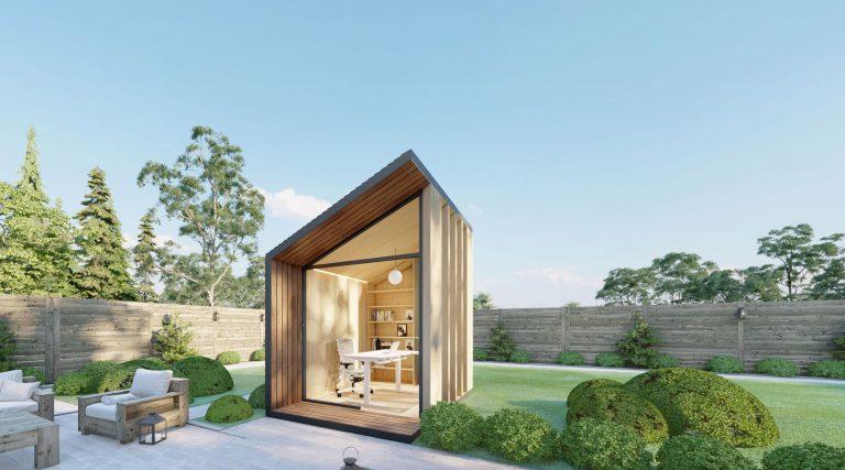 Zen Work Pod: Het Thuiskantoor Voor De Tuin